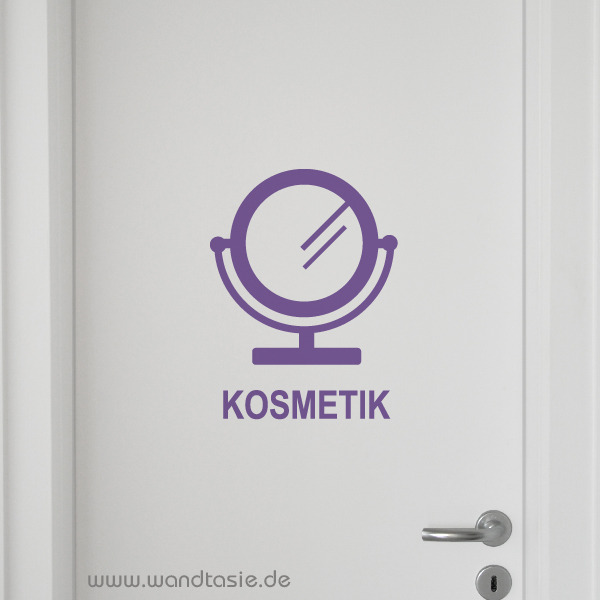 wandtattoos schilder piktogramme von wandtasie symbol kosmetik. Black Bedroom Furniture Sets. Home Design Ideas