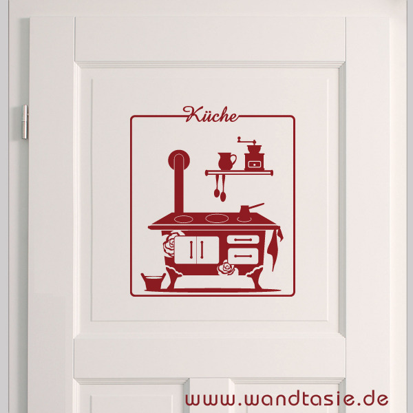 wandtattoos schilder piktogramme von wandtasie t rschild k che. Black Bedroom Furniture Sets. Home Design Ideas